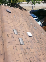 Roofing , Roof Repair , Shingle damage
