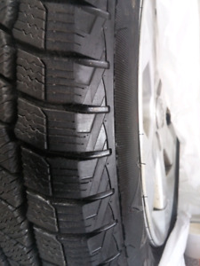 New Winter 185/65R15 Tires on Toyota Rims