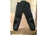 Spada winter armoured motorbike trousers size xl