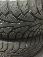 235-55-R17 Winter tires Hankook Ipikes!