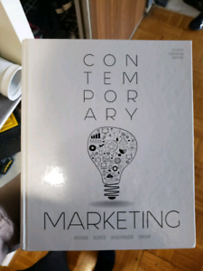 Contemporary Marketing 4th, for  ADMS 2200