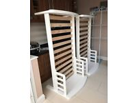 East Coast Nursery Country Toddler Beds x2 - White (PRICE DROP)