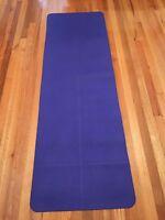 Blue Lululemon yoga Matt