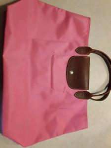 """Authentic Longchamp Les pliages """"Cabas"""" summer / spring tote bag"""