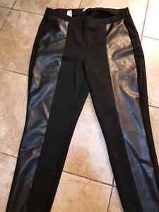 Leather strip Leggings size 1x