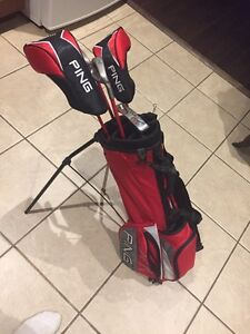 Brand new set of JR ping clubs and bag