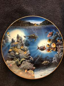 Underwater Paradise Robert Nelson Danbury Mint Complete Set 12