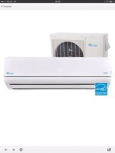 End of season prices on all our air conditioner / heat pump Wall