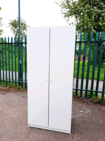 White Ikea Wardrobe (delivery available
