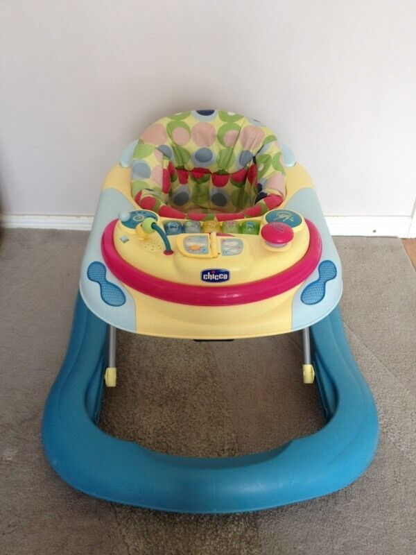 Chicco Dj Disco Baby Walker In Seventy Piano Play Tray