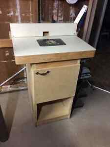 Router and router table and fence Windsor Region Ontario image 1