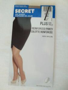 """Secret"" reinforced pantyhose"