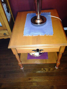 Maple Coffee Table with 2 end tables Prince George British Columbia image 1
