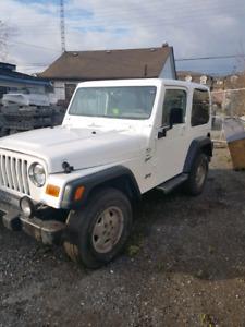 2000 jeep tj 4litre