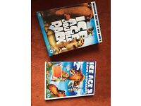 Ice Age 1,2 & 3 DVDs