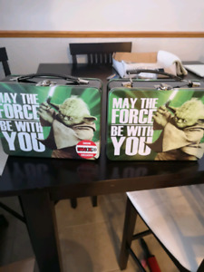 2 Star Wars Collectible Lunch Pails