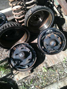 1969 CHEVELLE FRONT DRUM BRAKES COMPLETE