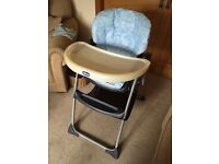 Chicco high chair. Bargain!