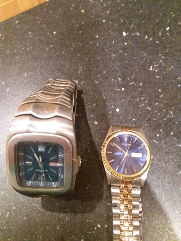 Pulsar and quicksilver men's watches | in Chesterfield, Derbyshire | Gumtree
