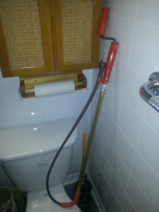 """36"""" General Toilet Auger with bulb head"""