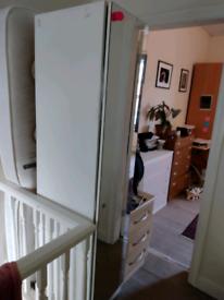FREE narrow ish wardrobe with mirror front