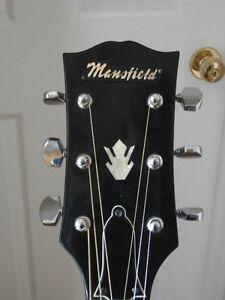 Vintage - Mansfield Acoustic Guitar Windsor Region Ontario image 2