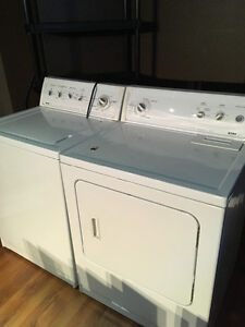 Kenmore washer and dryer team