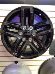 "2019 GMC CHEVROLET SIERRA SILVERADO 18"" NEW BLACK WHEELS"