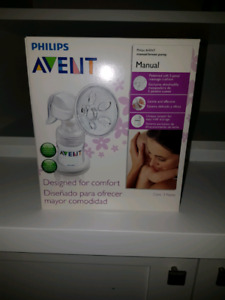 Avent Manual Breast Pump $30