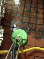 Is your tile and grout clean or dirty?