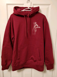 Palace Grand Master Hoodie cherry red size M