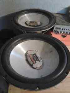 2x12 inch mtx subwoofers
