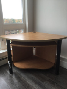 Now $30, still available. Nice corner desk for sale.