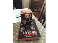 One direction mug and autobiography
