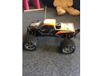 Petrol remote control car