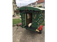 Miniature Gypsy Caravan