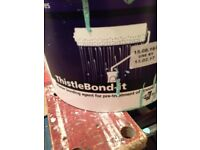 1/2 tub of THISTLEBOND, 1 bag of FINNISH, 1/3 bag bonding