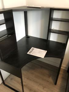 Corner Office Desk from IKEA