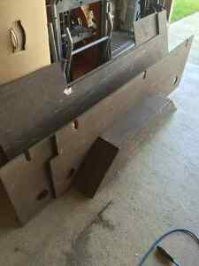 Wood box liner for F-150.