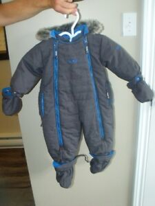 12 month boys Oshkosh Snowsuit