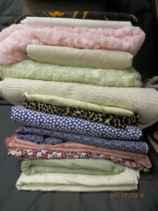 fabrics for sewing,many kinds and colors 5$ per piece/2yard up/