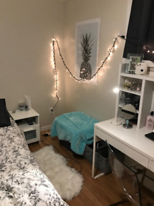 2 rooms for sublet December-May. 2 minute walk to Queen's campus