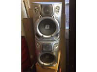 Pair of Philips speakers