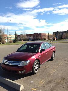 2008 Ford Taurus SEL Sedan $3800 OBO