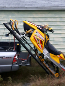 Toyota tacoma snowmobile loader... ski doo arctic cat polaris