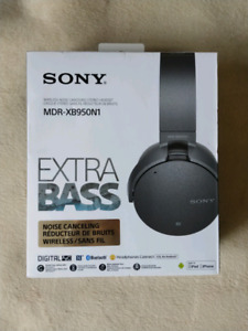 Sony Bluetooth Noise Cancelling Headphones