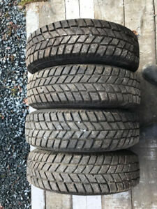 "NEW 14"" HANKOOK WINTER TIRES (185/70/R14)  HONDA rims $325 OBO"