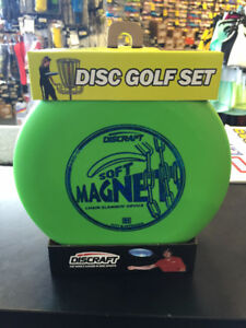 Brand New Discraft Starters Disc Golf Set