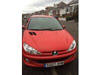 Peugeot 206, Full Service History & Low Mileage