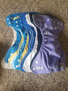 37 Piece NB Snappy Nappies
